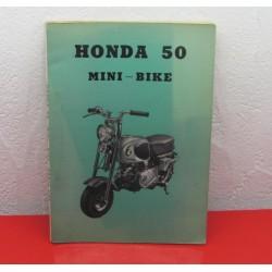 HONDA CZ100 PARTS LIST
