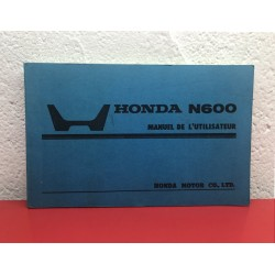 HONDA N360 OWNER's MANUAL